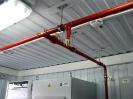 Система газового пожаротушения производства ТЕХНОС-М+ в аппаратном контейнере.