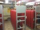 Централизованная установка газового пожаротушения в архиве