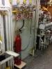 Централизованная  установка газового пожаротушения в машинном отделении теплохода