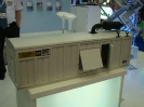 Макет блок-бокса ДГУ защищаемого установками газового пожаротушения производства ТЕХНОС-М+