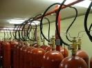 Установка газового пожаротушения на базе МГП «Атака-1» в архиве академии МЧС, г. Химки
